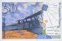 Banknotes Banque de France. Billet. 50 francs (Saint-Exupéry), 1992