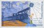 Banknotes Banque de France. Billet. 50 francs (Saint-Exupéry), 1994, modifié
