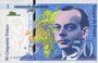Banknotes Banque de France. Billet. 50 francs (Saint-Exupéry), 1997. Décalé vers la gauche