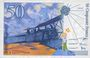 Banknotes Banque de France. Billet. 50 francs (Saint-Exupéry). 1997, modifié