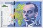 Banknotes Banque de France. Billet. 50 francs (Saint-Exupéry), 1997, modifié
