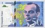 Banknotes Banque de France. Billet. 50 francs (Saint-Exupéry), 1999, modifié