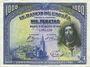 Banknotes Espagne. Banque d'Espagne. Billet. 1 000 pesetas 15.8.1928