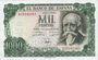 Banknotes Espagne, billet, 1 000 pesetas 17.9.1971 (1974)