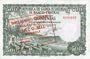 Banknotes Guinée Equatoriale. Billet. 5 000 bipkwele 21.10.1980 surchargé /500 pesetas guineanas 1969