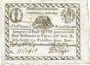 Banknotes Italie. Etats pontificaux. 1ère république romaine. Billet. 7 paoli an 7 (= 1798)
