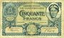 Banknotes Luxembourg. Billet. 50 francs 1.10.1932