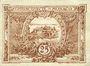 Banknotes Monaco. Billet. 25 centimes 1920
