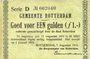Banknotes Pays Bas. Commune (Gemeente) de Rotterdam. 1 gulden 7.8.1914