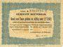 Banknotes Pays Bas. Commune (Gemeente) de Rotterdam. 2 1/2 gulden 7.8.1914