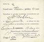Banknotes Pays Bas. Gendt. Waalsteenindustrie. 2 gulden 41 cent. 14.8.1914