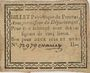 Banknotes Pezenas. Bon pour 2 sols et demi n. d., 1 signature