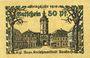 Billets Ansbach. Stadt. Billet. 50 pf  1918