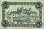 Billets Aschaffenburg. Stadt. Billet. 20 mark (1918-21), cachet d'annulation