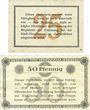 Billets Aschersleben. Stadt. Billets. 25 pf, 50 pf 14.4.1917
