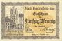 Billets Bartenstein (Bartoszyce, Pologne). Stadt. Billets. 50 pf n.d. - 31.12.1921