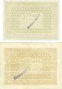 Billets Bensheim. Stadt. Billets. 5 mark, 20 mark n.d. - 1.2.1919