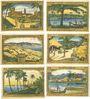 Billets Berlin. Deutsch-Hanseatischer Kolonialgedenktag. Billets. 75 pf (6ex) 4.11.1921