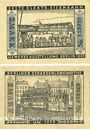 Billets Berlin. Strassenbahngeld. Billets. 2 mark (2ex) 1.3.1922