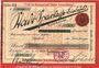 Billets Bielefeld. Stadt. Billet. 50 mark 1.11.1918, Série (Reihe) III