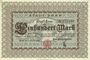 Billets Bonn. Stadt. Billet. 100 mark 1.10.1922