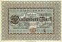 Billets Bonn. Stadt. Billet. 100 mark 1.10.1922