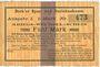 Billets Bork. Spar- und Darlehnskasse. Billet. 5 mark 15.8.1914 - 1.4.1915