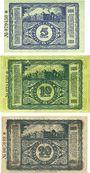 Billets Cheminitz. Amtshauptmannschaft. Billets. 5 mk, 10 mk, 20 mk 15.11.1918