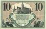 Billets Chemnitz. Finanzvereinigung Chemnitzer Industrieller. Billet. 10 mark 18.11.1918