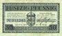 Billets Darmstadt. Stadt. Billet. 50 pfennig 30.6.1917
