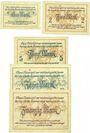 Billets Eisleben. Mansfeld a. G.. Billets. 1, 2, 5, 10, 20 mark n. d. - 31.5.1919