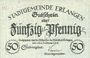Billets Erlangen. Stadt. Billet. 50 pf 29/31.10.1918