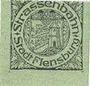 Billets Flensburg. Strassenbahn. Billet. 15 pf n. d. - 1.7.1920