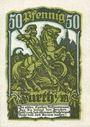 Billets Furth im Wald. Stadt. Billet. 50 pfennig n. d. - 1.7.1921