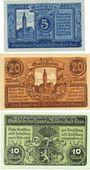 Billets Gera. Stadt. Billets. 5 mark, 10 mark, 20 mark n.d. - 1.2.1919