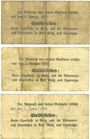 Billets Grätz (Grodzisk Wielkopolski, Pologne). Kreisausschuss. Billets.50 pf, 1mark, 2 mark n.d. - 1.1.1915