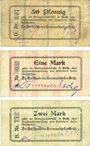 Billets Grätz (Grodzisk Wielkopolski, Pologne). Kreisausschuss. Billets. 50 pf, 1mk, 2 mark n.d. - 1.1.1915