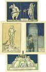 Billets Kahla. Stadt. Billets. 75 pf (4ex) 1.12.1921, série politique