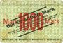 Billets Kaiserslautern. G. M. Pfaff, Nähmaschinenfabrik. Billet. 50000 mk surchargé /1000 mk n.d.- 15.9.1923