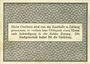 Billets Kehl. Stadt. Billet. 50 pf 30.5.1917