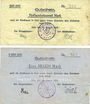 Billets Kehl. Stadt. Billets. 500 000, 1 million mark 15.8.1923