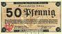 Billets Kempen a. Rhein. Stadt. Billet. 50 pf 30.8.1918