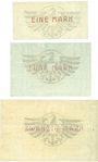 Billets Klettendorf bei Breslau (Sin/Pietrzkewice, Pologne), Rath, Schoeller & Skene G.m.b.H., 1, 5, 20 mk