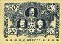 Billets Kreuznach. Stadt. Billet. 50 pf 1917-1918