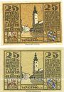 Billets Laufen-Tittmoning, Bezirksamt, billets, 25 pf 1920 (2ex)