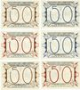 Billets Liebenwerda, Kreis, série de 6 billets, 50 pf 1.10.1921 (6ex)