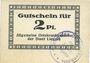 Billets Liegnitz (Legnica, Pologne), Allgemeine Ortskrankenkasse, billet, 2 pf, carton blanc épais