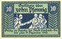 Billets Limbach, Stadt, billet, 10 pf n.d. - 31.12.1919