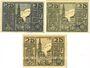 Billets Osterhofen, Stadt,  billets, 25 pfennig (3 ex) 27.1.1917