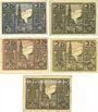 Billets Osterhofen, Stadt, série de 5 billets, 25 pfennig 27.1.1917